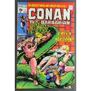 Conan the Barbarian (1970) #7 VF+ (8.5) Barry Windsor-Smith Cover and Art