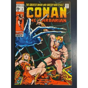 Conan the Barbarian #4 (1971) F/VF (7.0) Classic Barry Windsor Smith Art copy 2|