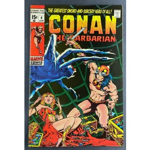 Conan the Barbarian (1970) #4 VF+ (8.5) Barry Windsor-Smith Cover and Art