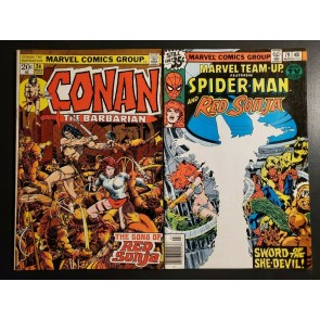 Conan the Barbarian #24 1973 VF+ Marvel Team-Up 79 1st app Red Sonja/ MJ as RS|