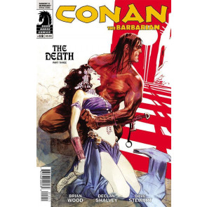CONAN THE BARBARIAN #12 NM THE DEATH PART 3 DARK HORSE COMICS