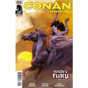 CONAN THE BARBARIAN #8 NM BORDER FURY PART 2 DARK HORSE COMICS
