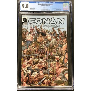 Conan The Cimmerian (2008) 25 CGC 9.8 Geof Darrow Massacre Variant (2128266002)