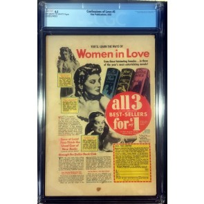 Confessions of Love (1952) #5 CGC 4.5 off-white to white pages L.B Cole cover