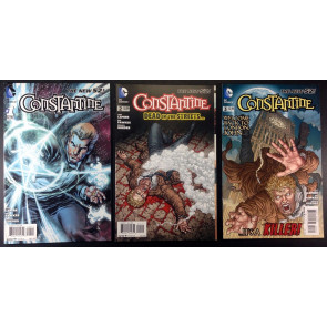 Constantine (2013) 1 2 3 VF/NM three issue run all 1st prints Jeff Lemire New 52