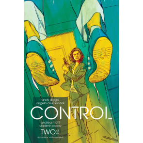 Control (2016) #2 of 6 VF/NM Andy Diggle Dynamite