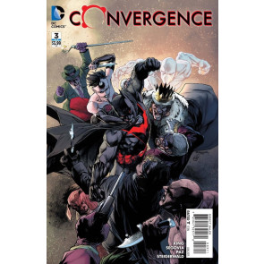 CONVERGENCE (2015) #3 OF 8 VF/NM