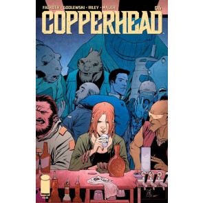 COPPERHEAD (2014) #6 VF/NM FIRST PRINTING IMAGE COMICS