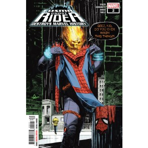 Cosmic Ghost Rider Destroys Marvel History (2019) #2 VF/NM Gerardo Zaffino Cover