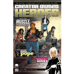 CREATOR OWNED HEROES #2 VF/NM TRIGGER GIRL 6 COVER A IMAGE COMICS