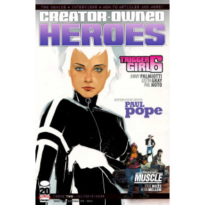 CREATOR OWNED HEROES #2 VF/NM TRIGGER GIRL 6 COVER B IMAGE COMICS