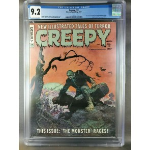 Creepy #10 (1966) CGC 9.2 NM- OWW pages Warren magazine 1st Frank Brunner art|