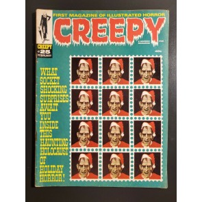 CREEPY #25 (1969) F- 5.5 WARREN CHRISTMAS HOLIDAY COVER SPECIAL ISSUE |