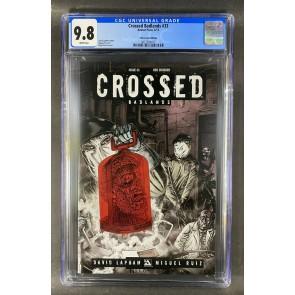 Crossed Badlands (2012) #33 CGC 9.8 Red Crossed Variant Edition (3822924012)