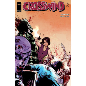 Crosswind (2017) #5 VF/NM Walking Dead Tribute Variant Cover Image Comics