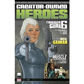 CREATOR OWNED HEROES #1 VF/NM TRIGGER GIRL 6 IMAGE COMICS