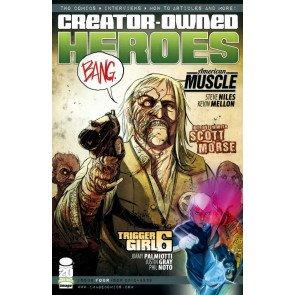 CREATOR OWNED HEROES #4 VF/NM TRIGGER GIRL 6 COVER B IMAGE COMICS