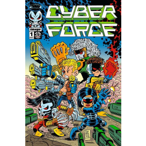 CYBER FORCE (2012) #1 NM GIARRUSSO VARIANT COVER TOP COW MARC SILVESTRI