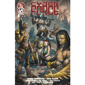 CYBER FORCE (2012) #5 VF/NM COVER A TOP COW MARC SILVESTRI