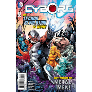 CYBORG (2015) #4 VF/NM