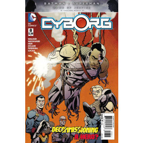 Cyborg (2015) #8 VF/NM