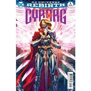 Cyborg (2016) #5 VF/NM Carlos D'Anda Variant DC Universe Rebirth