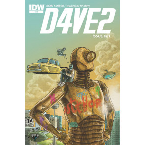 D4VE2 (2015) #1 VF/NM IDW
