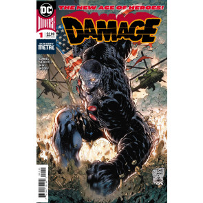 Damage (2018) #1 VF/NM Tony Daniel 1st Printing Dark Knights Metal