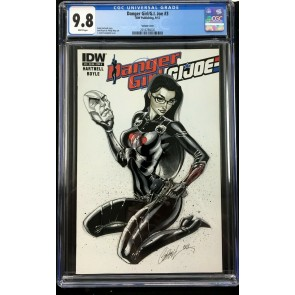 Danger Girl G I Joe (2012) #3 CGC 9.8 J. Scott Campbell variant (2016786020)