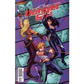 Danger Girl (1998) #1 VF/NM-NM J. Scott Campbell Cliffhanger Image 1st Printing