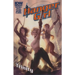 Danger Girl: Trinity (2013) #1 VF/NM Subscription Variant Cover IDW