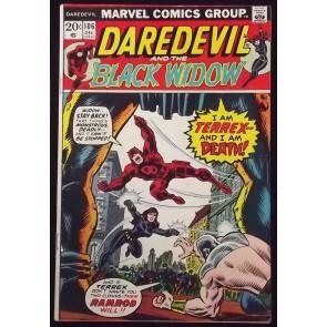 DAREDEVIL #106 FN THANOS SAGA MOON DRAGON