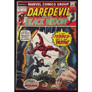 DAREDEVIL #106 GD/VG THANOS SAGA MOON DRAGON