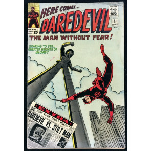Daredevil (1964) #8 GD (2.0) 1st app Stilt Man