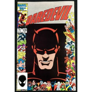 Daredevil (1964) #236 VF- (7.5) Barry Smith Art 25th Anniversary Picture Frame