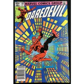 Daredevil (1964) #186 VF/NM (9.0) Stilt-Man app Frank Miller