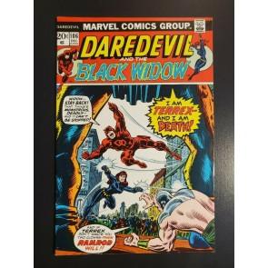 Daredevil #106 (1973) F 6.0 Terrex Ramrod Black Widow Moondragon app 