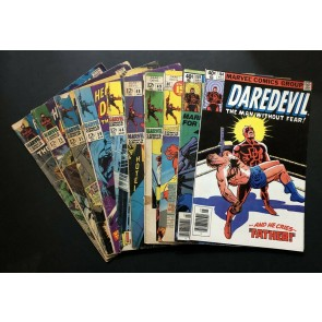 Daredevil (1963) #19 25 31 39 44 48 49 80 159 164 Reader lot 10 comics