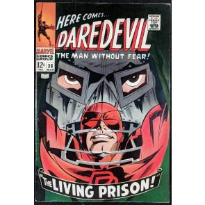 Daredevil (1964) #38 FN- (5.5)  -vs-  Dr. Doom part 2