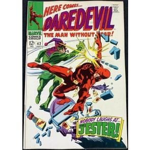Daredevil (1964) #42 FN/VF (7.0)  1st App Jester