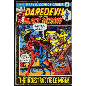 Daredevil (1964) #93 VG (4.0) and Black Widow vs Indestructible Man