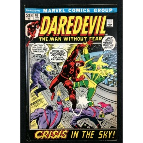 Daredevil (1964) #89 FN+ (6.5) vs Electro & Killgrave the Purple Man