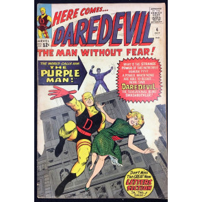 Daredevil (1964) #4 VG/FN (5.0) 1st app Killgrave Purple Man