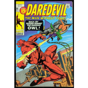 Daredevil (1964) #80 VF- (7.5)  vs OWL