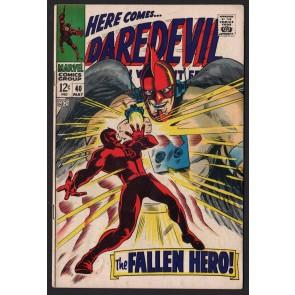 Daredevil (1964) # 40 FN (6.0) vs The Organization Cat-Man Bird-Man Ape-Man