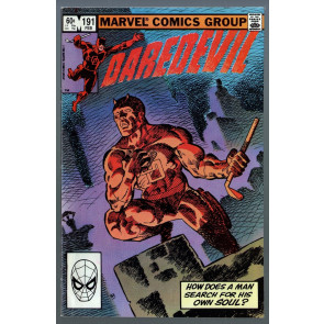 Daredevil (1964) #191 VF- (7.5) Roulette with Bullseye