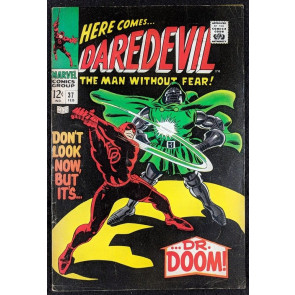 Daredevil (1964) #37 FN- (5.5)  vs Dr. Doom part 1