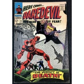 Daredevil (1964) #20 FN+ (6.5) vs Owl 1st Gene Colan Art