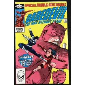 Daredevil (1964) #181 VF- (7.5) Death of Elektra Frank Miller