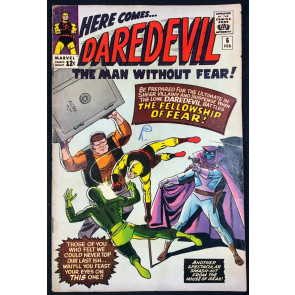 Daredevil (1964) #6 VG/FN (5.0) 1st app Mr.Fear